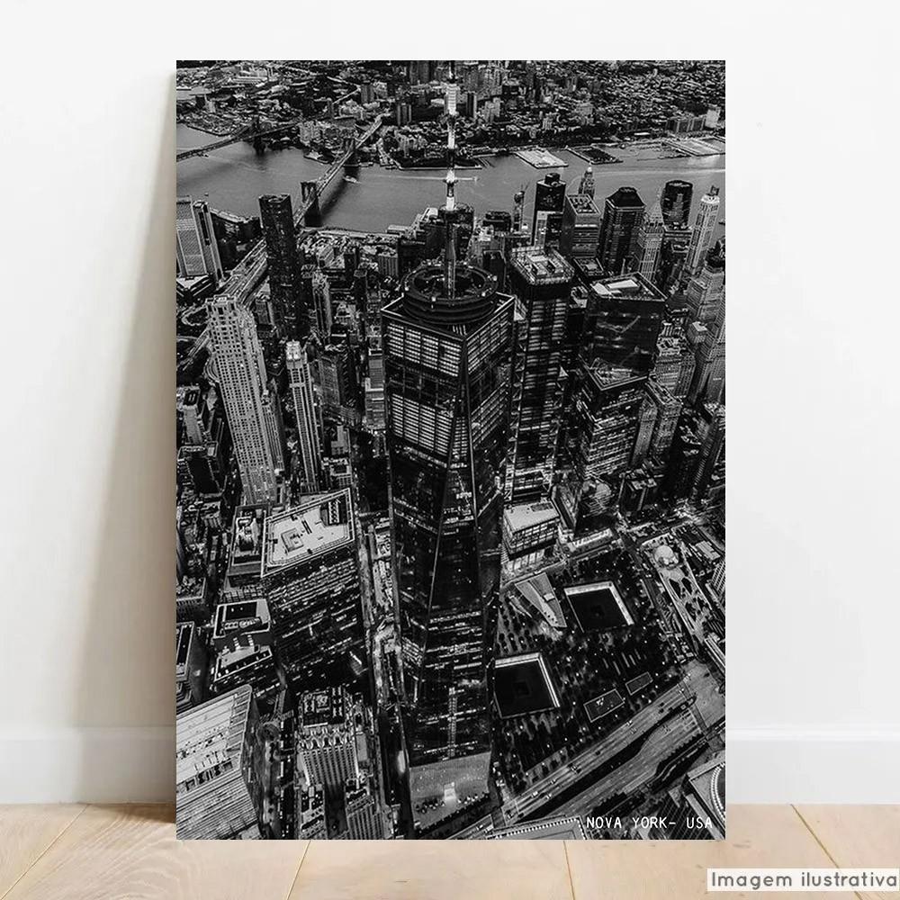 Placa Decorativa Monumento Nova York  - TaColado