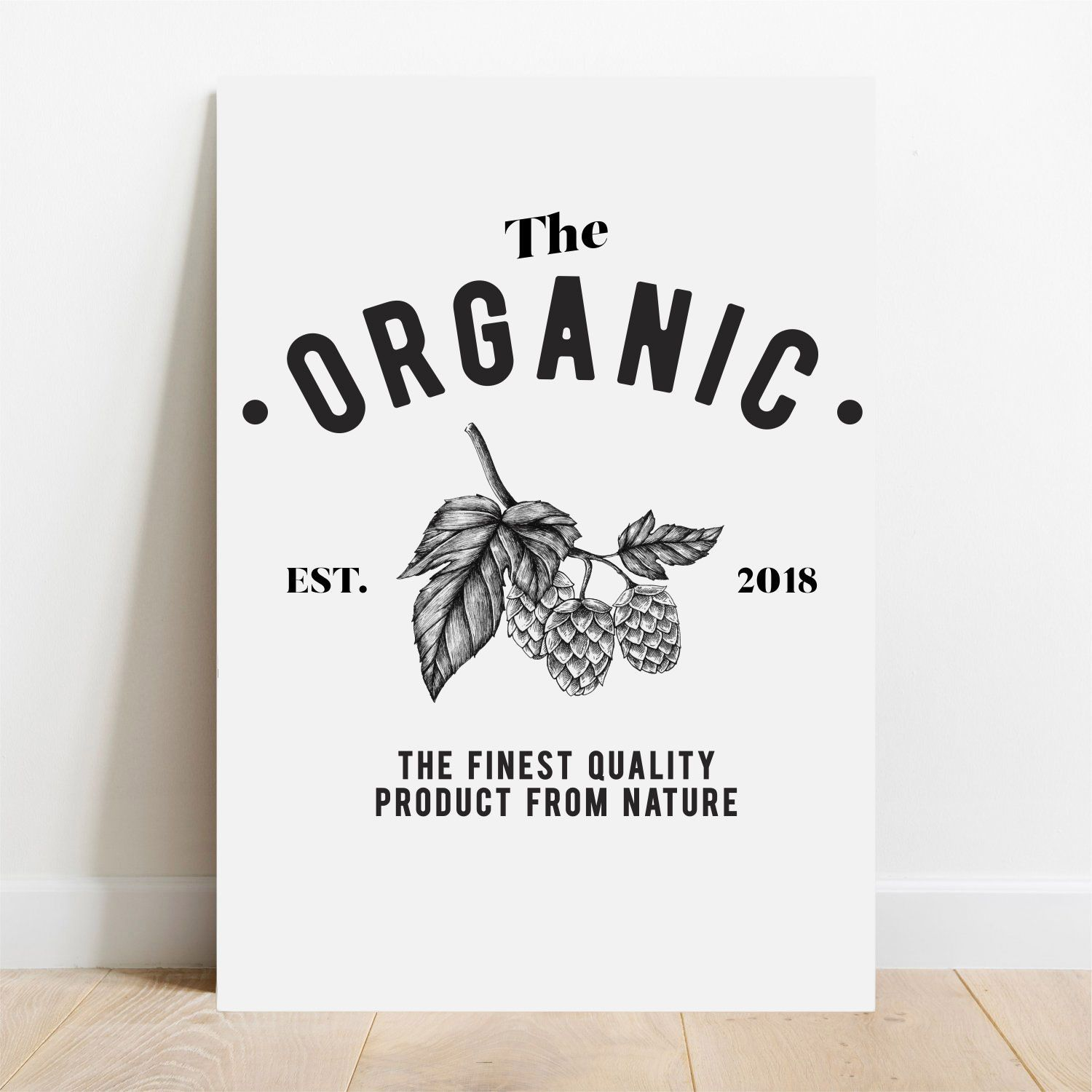 Placa Decorativa Organic  - TaColado