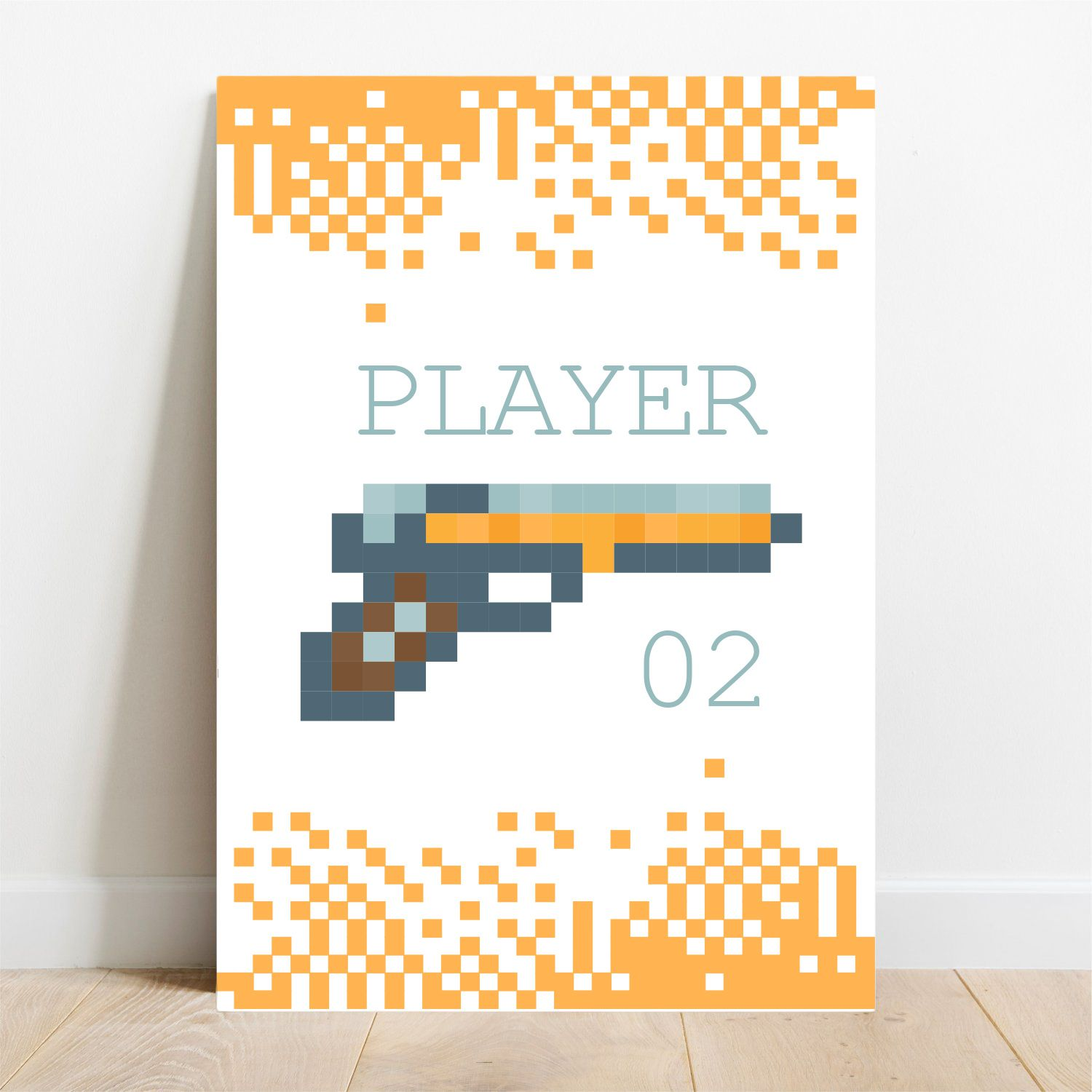 Placa Decorativa Player 2  - TaColado