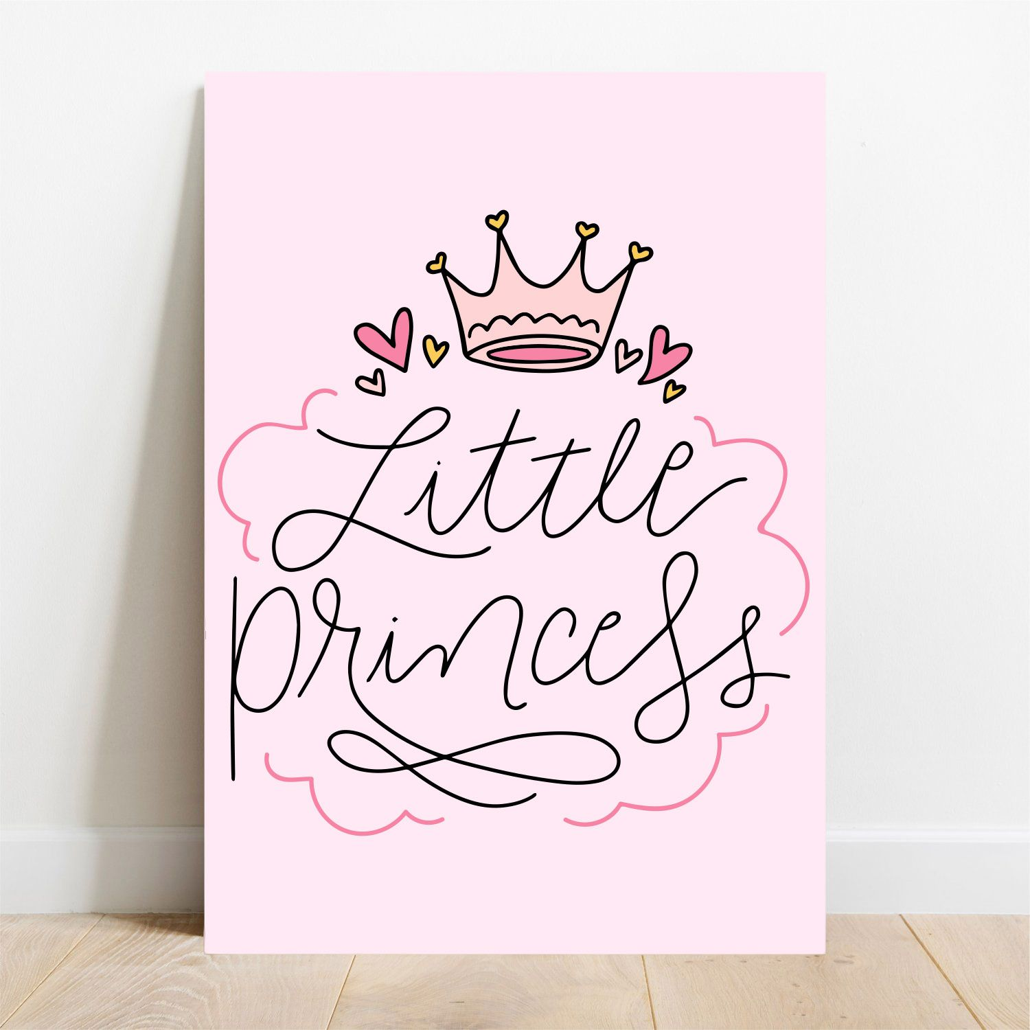 Placa Decorativa Princess  - TaColado