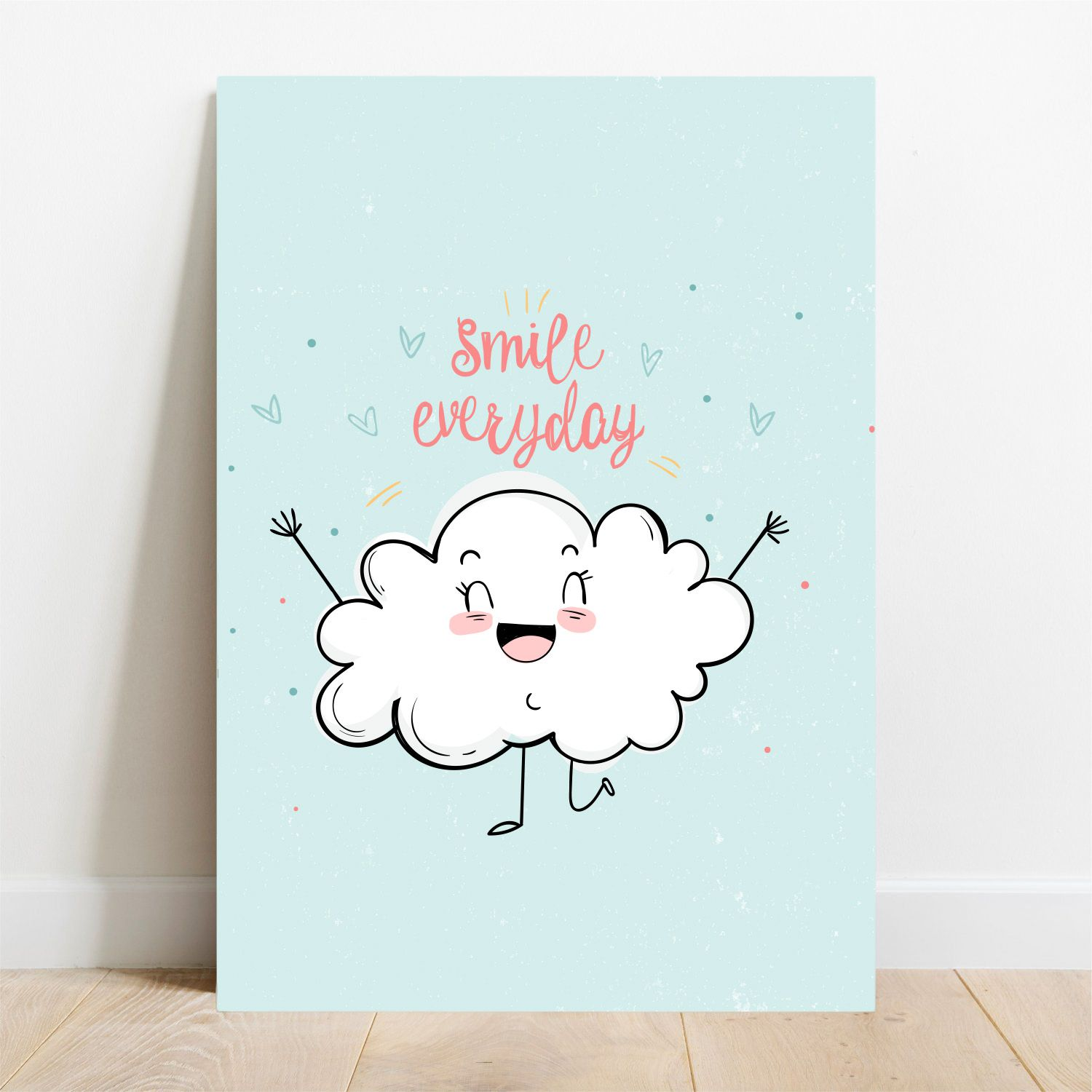Placa Decorativa Smile Everyday  - TaColado