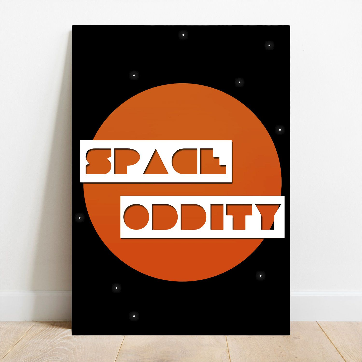 Placa Decorativa Space Oddity  - TaColado