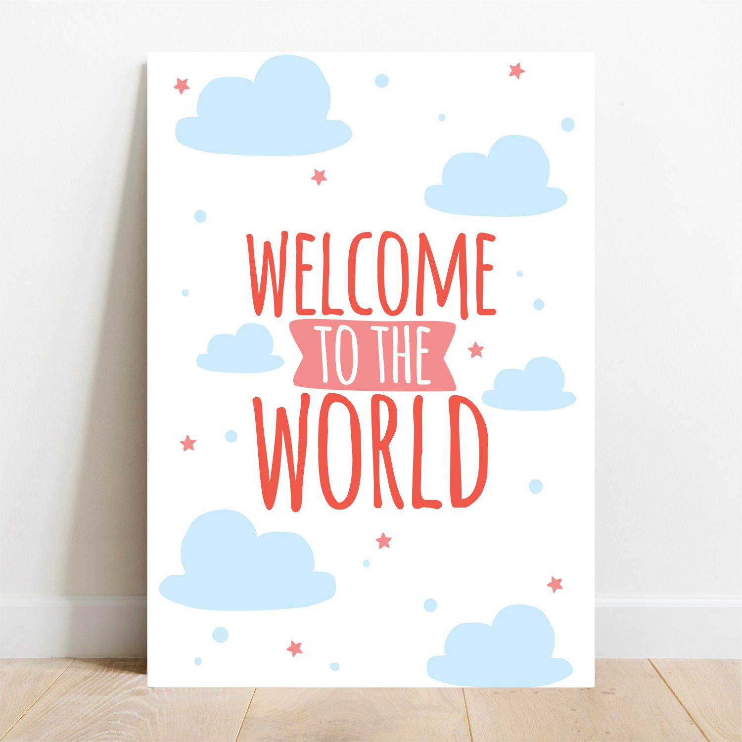 Placa Decorativa Sweet World  - TaColado