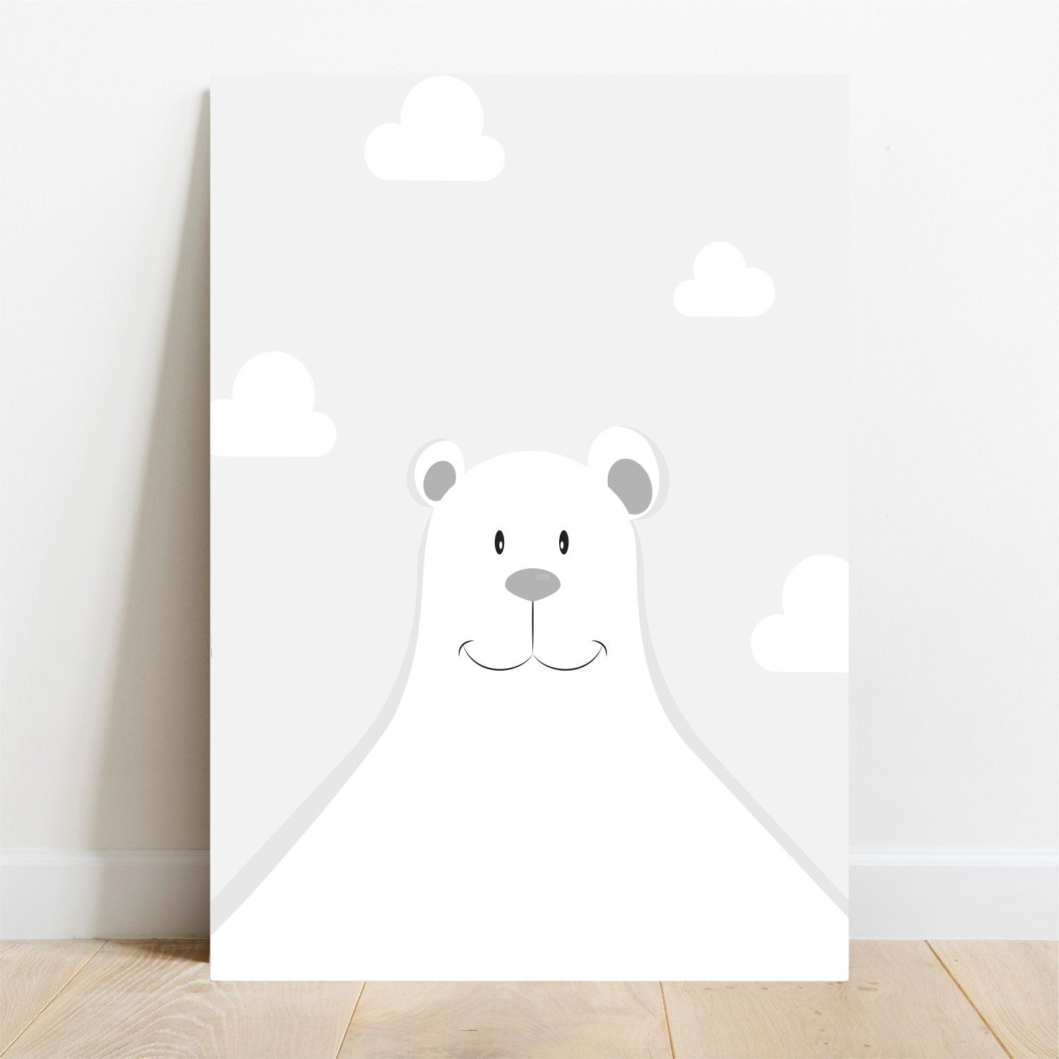 Placa Decorativa Urso Polar  - TaColado