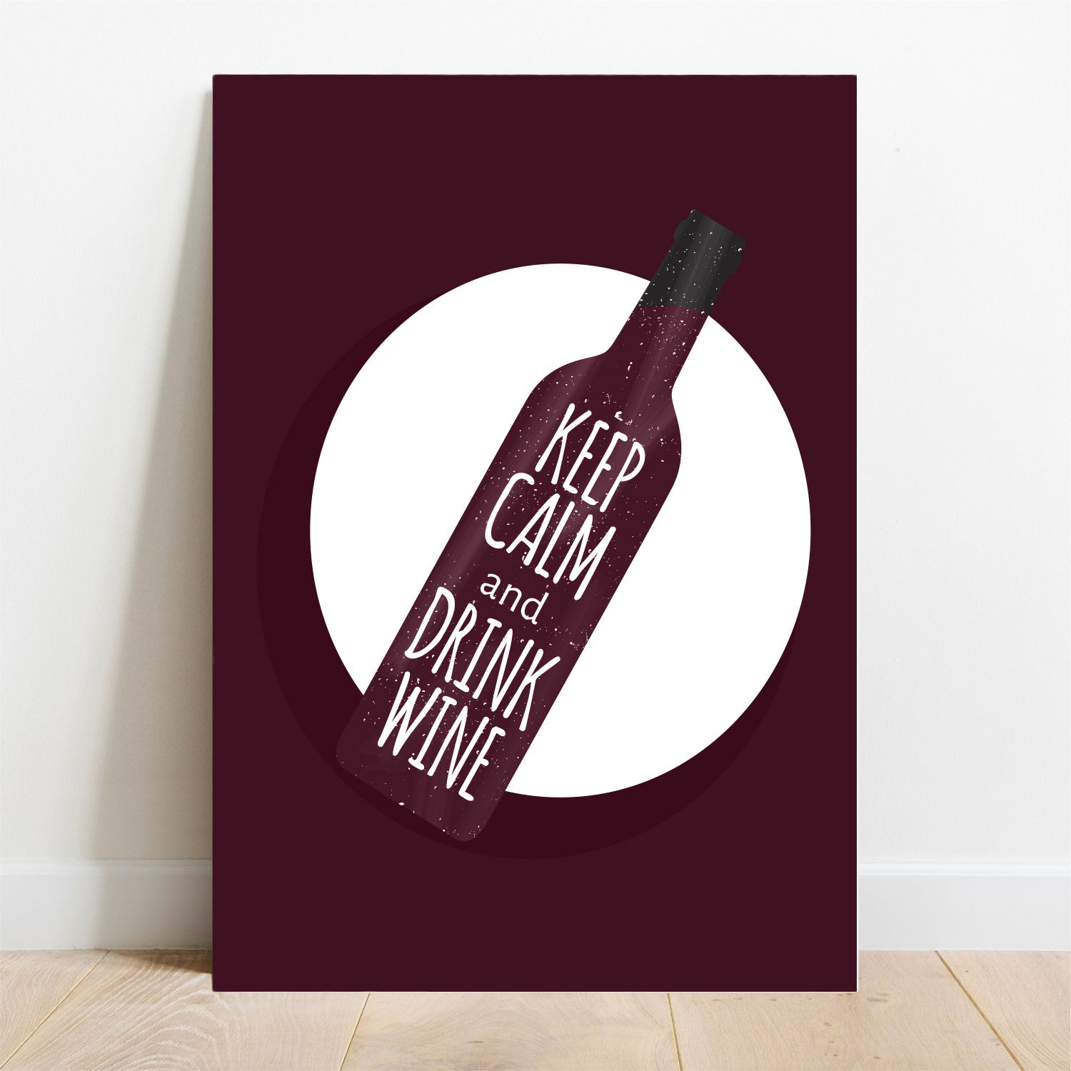 Placa Decorativa Wine  - TaColado