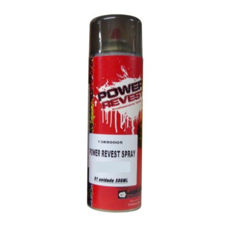 Power Revest Branco Opaco - Spray 500ml  - TaColado