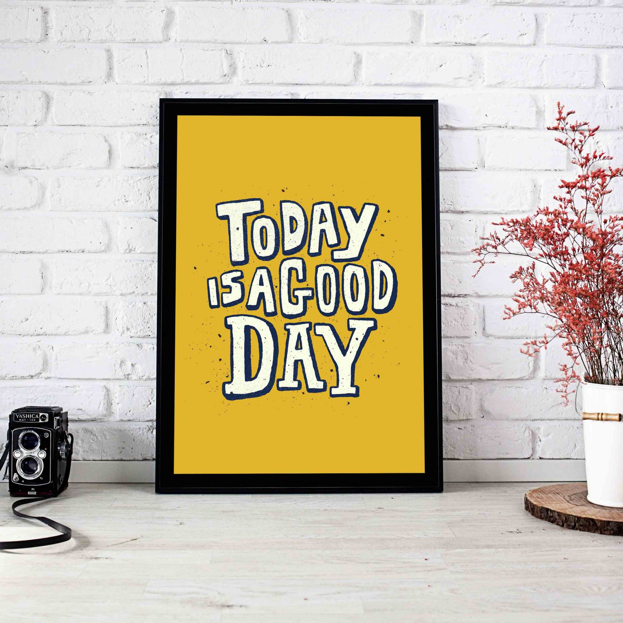 Quadro Decorativo Good Day  - TaColado