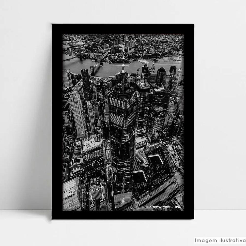 Quadro Decorativo Monumento Nova York  - TaColado