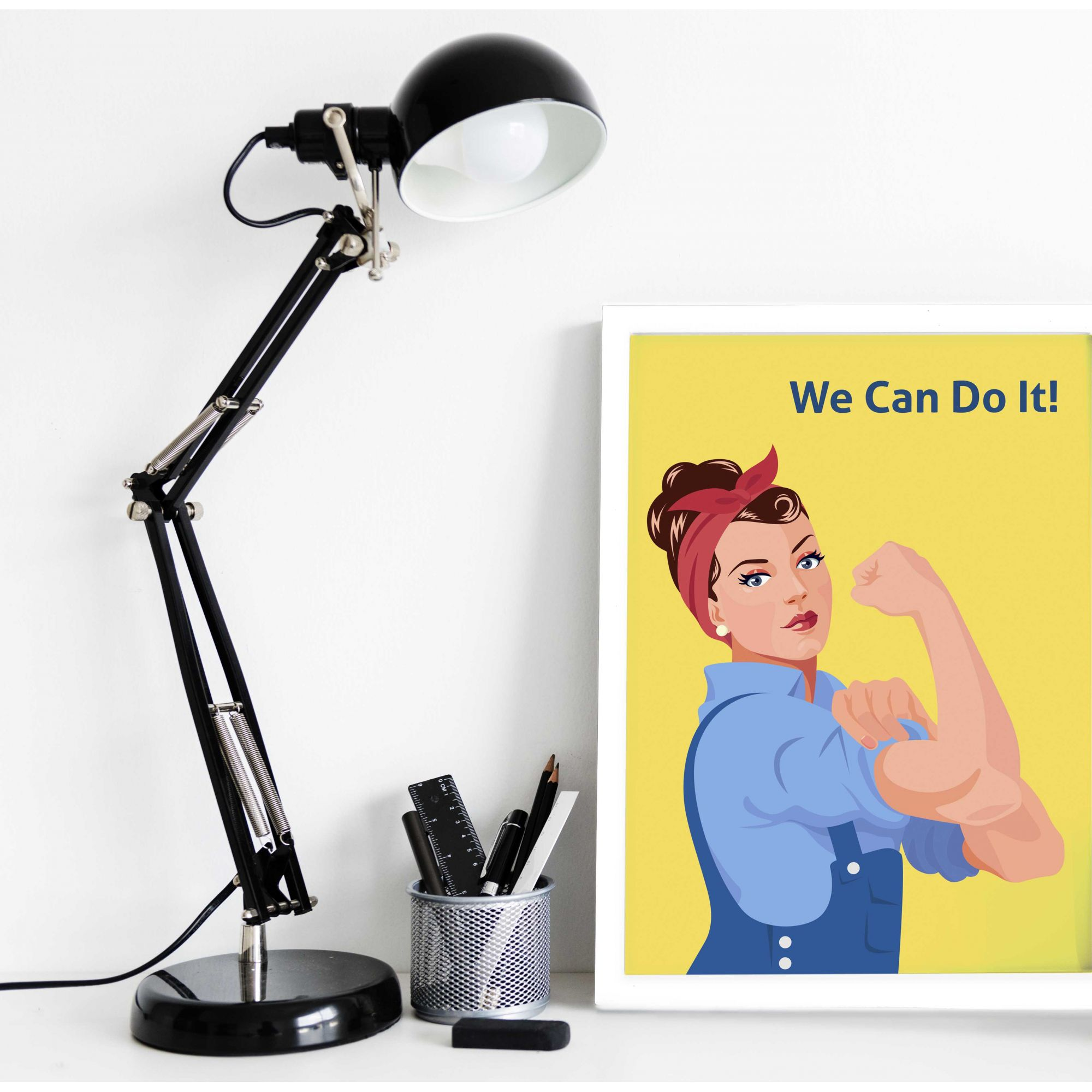 Quadro Decorativo We can do It  - TaColado