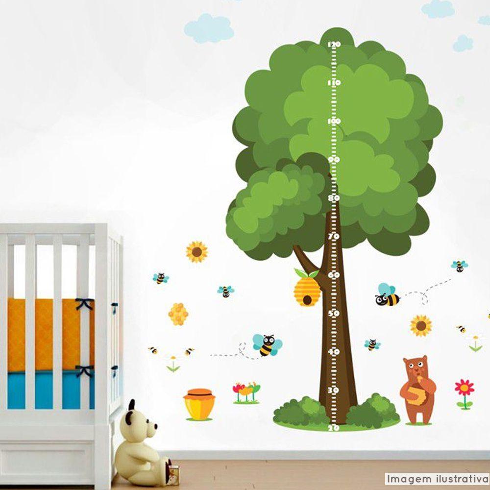 Régua de Crescimento Infantil Abelhas  - TaColado