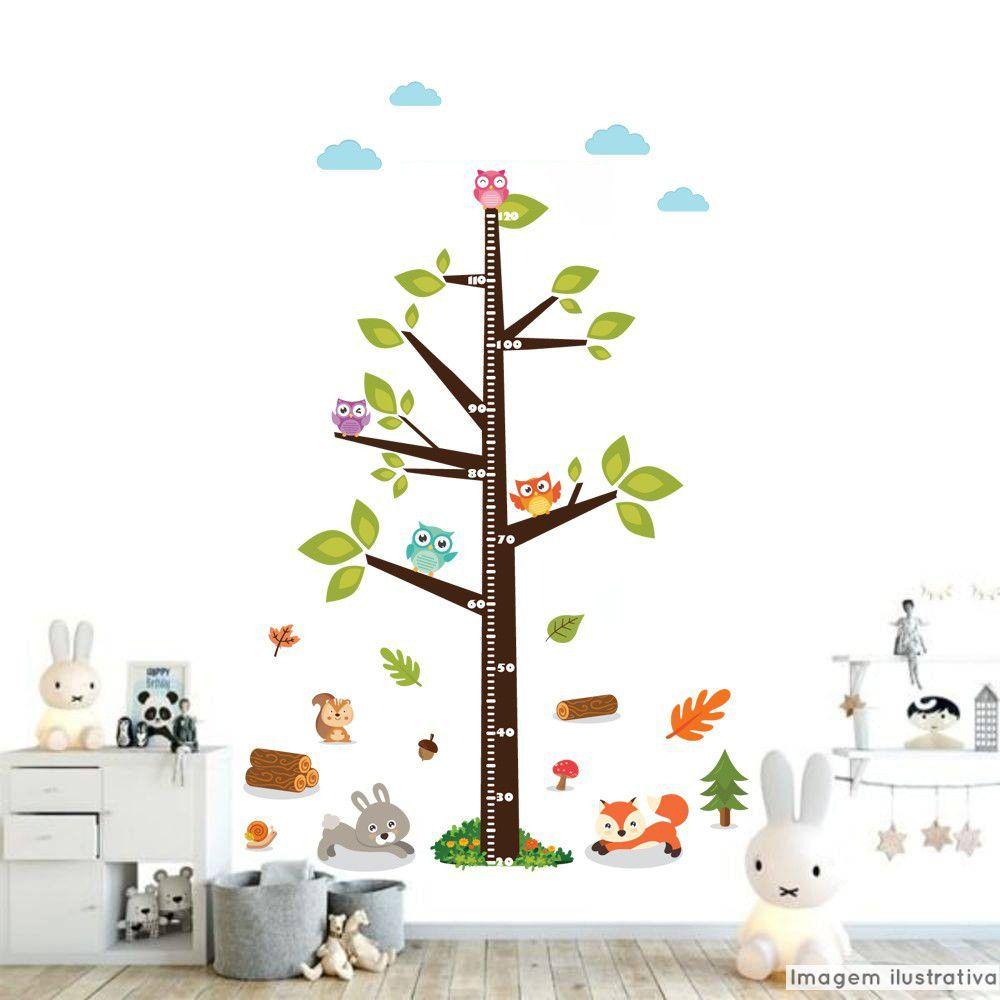 Régua de Crescimento Infantil Floresta  - TaColado