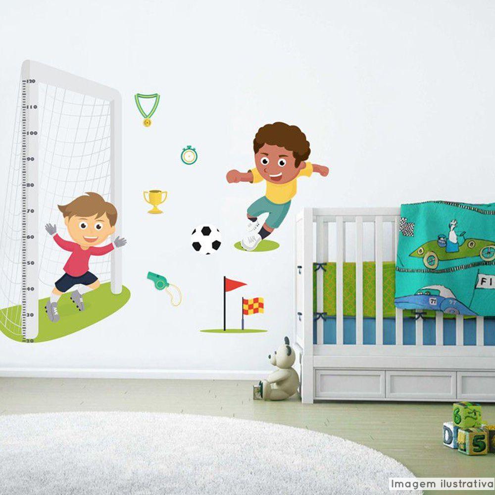 Régua de Crescimento Infantil Futebol  - TaColado