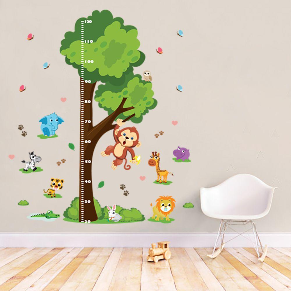 Queima de Estoque - Régua de Crescimento Infantil Selva  - TaColado