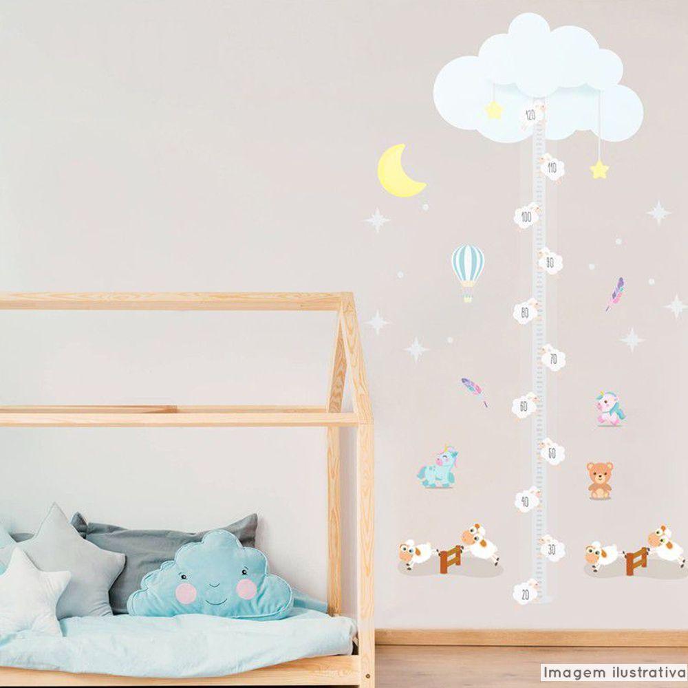 Régua de Crescimento Infantil Sonhos  - TaColado