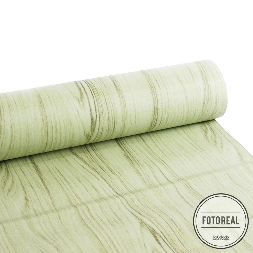 Outlet - Revestimento Texturizado Madeira Garapa 0,61x3,00m  - TaColado