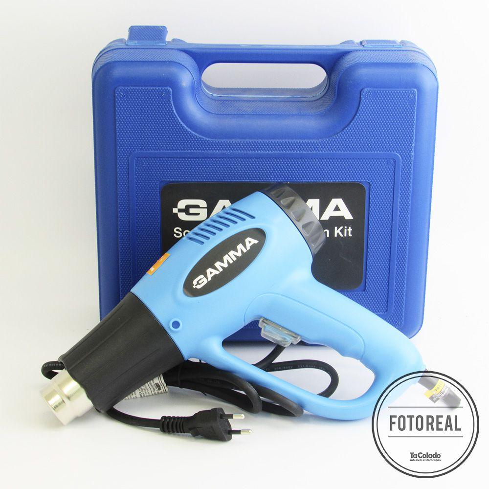 Soprador Térmico Gamma 1500 com Kit - 110/220V  - TaColado