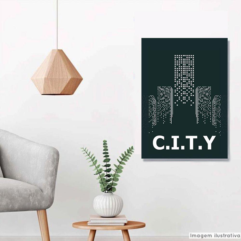 Tela Decorativa City  - TaColado