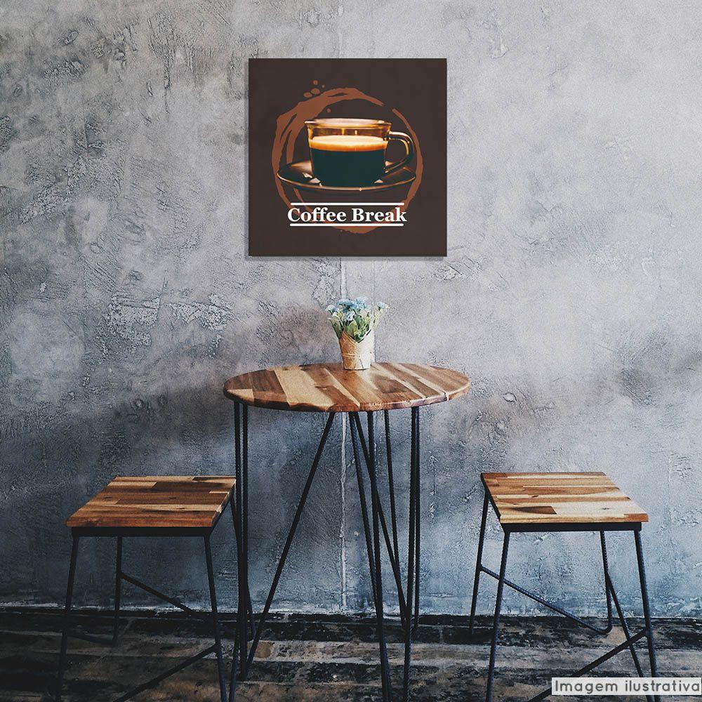 Tela Decorativa Coffee  - TaColado