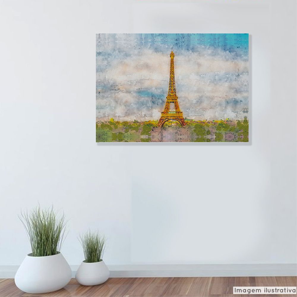 Tela Decorativa Eiffel  - TaColado