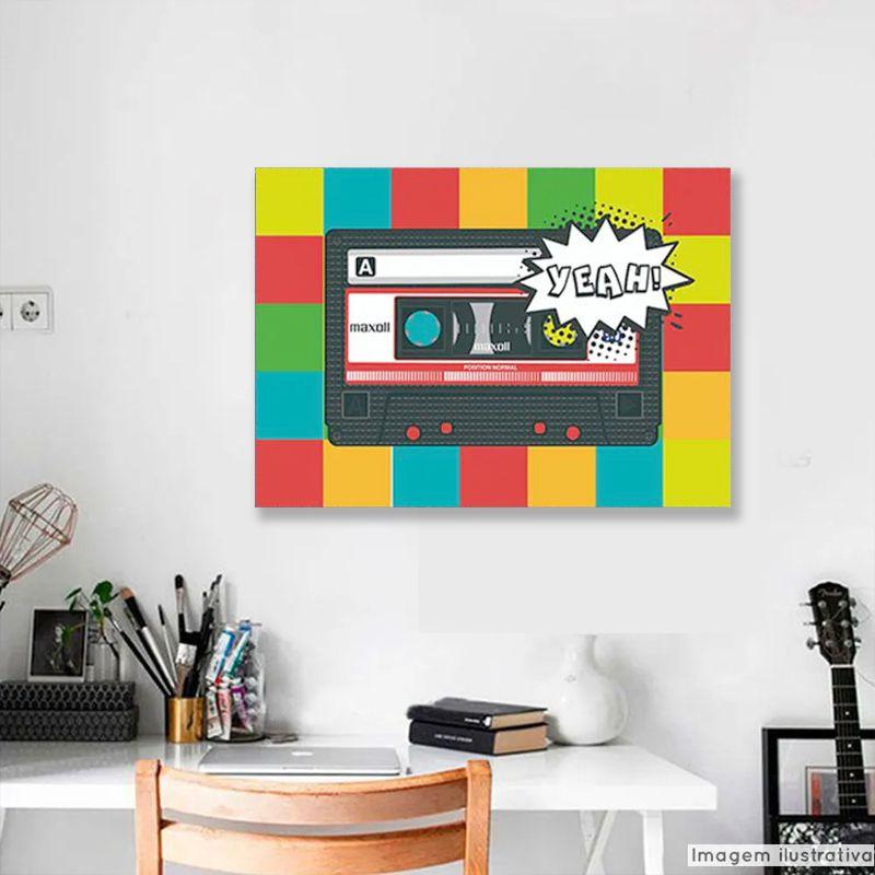 Tela Decorativa Pop Art  - TaColado