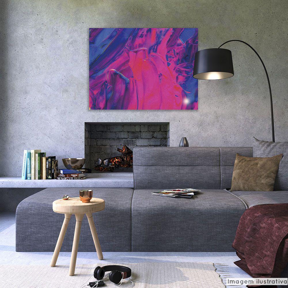 Tela Decorativa Purple Hand  - TaColado
