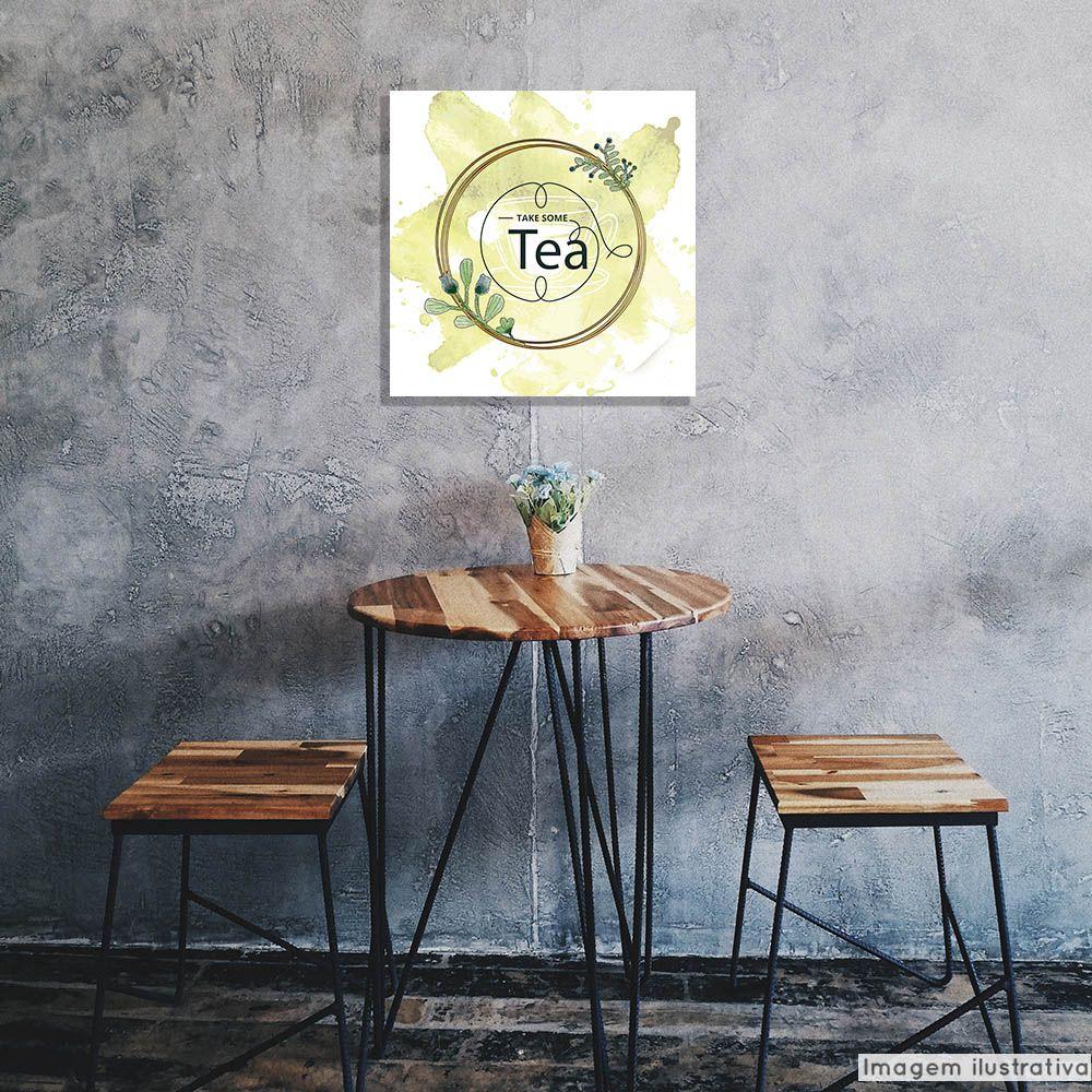 Tela Decorativa Take Tea  - TaColado