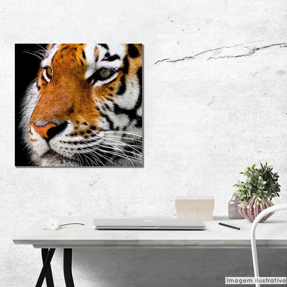 Tela Decorativa Tigre  - TaColado