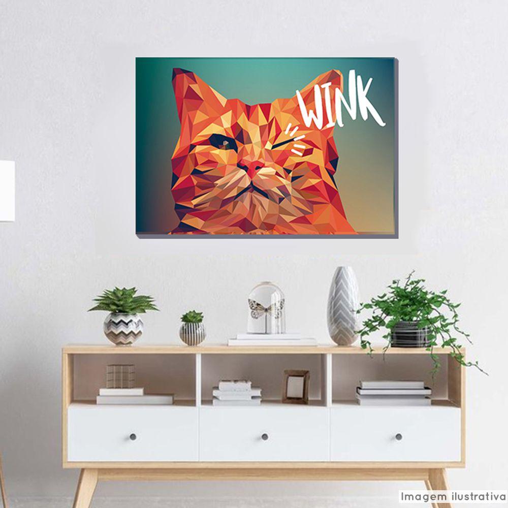 Tela Decorativa Wink  - TaColado