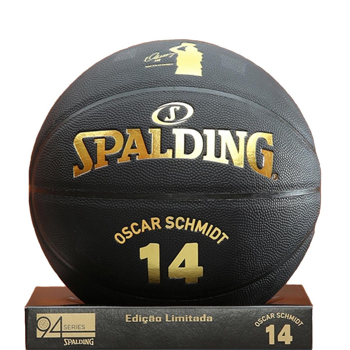 Bola Basquete Spalding Oscar Schmidt Edição Limitada