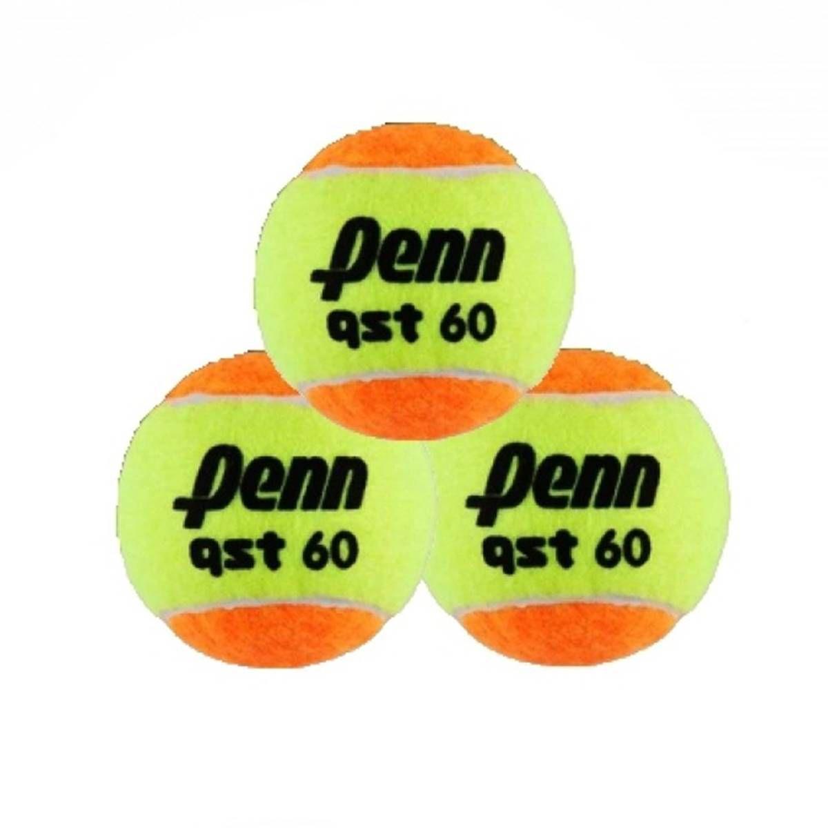 Bola De Beach Tennis Penn Qst60  Pacote Com 3 Unidades