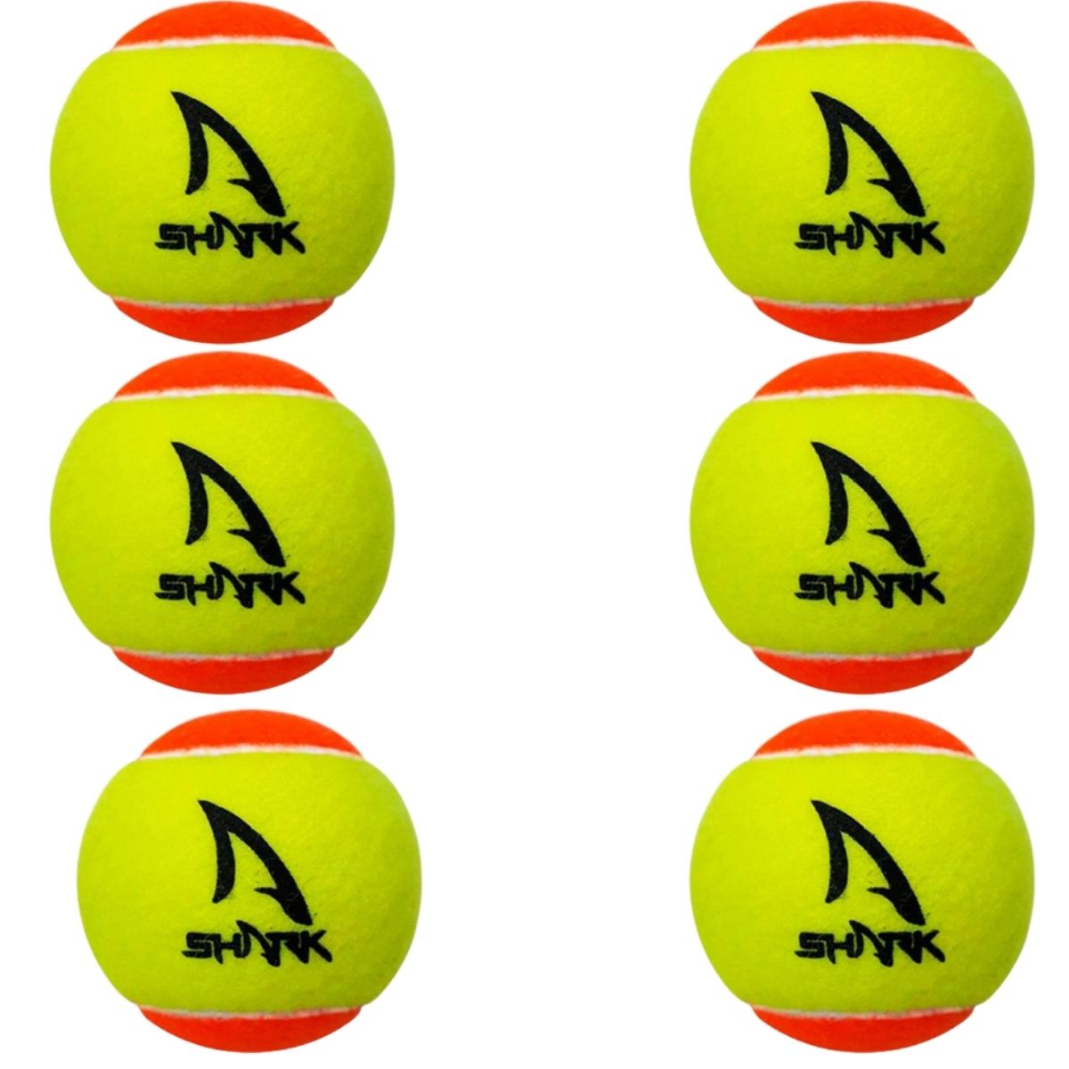 Bola de Beach Tennis Shark Kit 6 Unidades