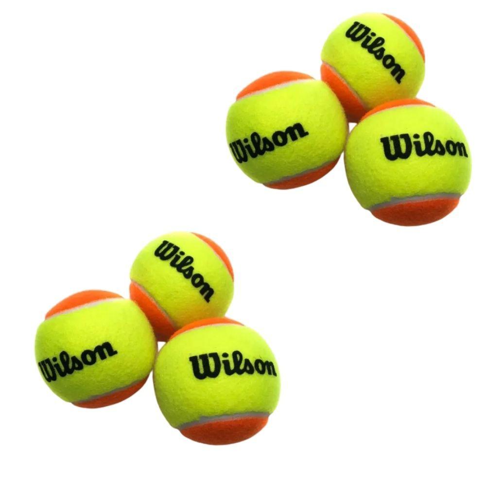 Bola De Beach Tennis Wilson Tour Premier Bt3 Com 06 Unidades