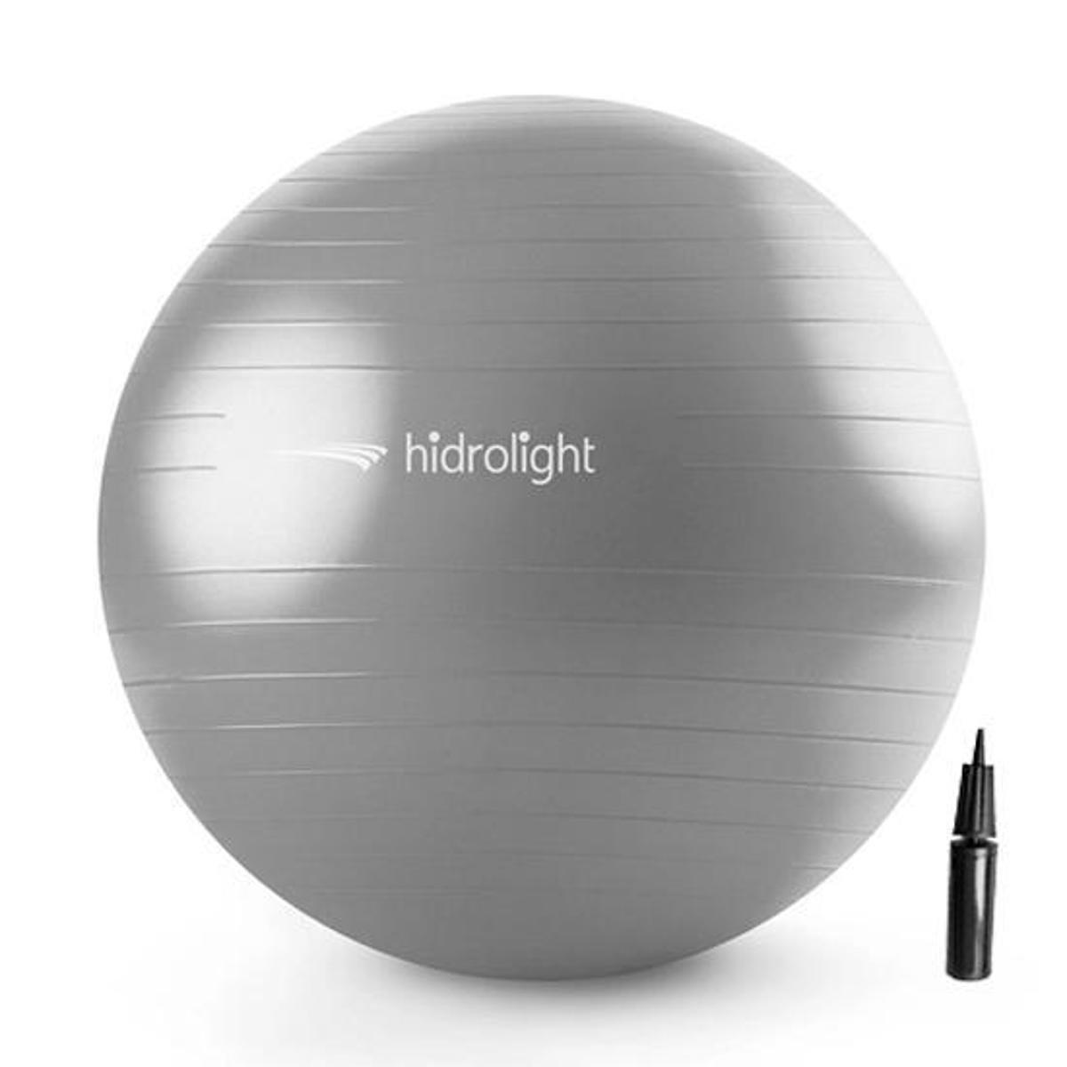 Bola De Exercícios Pilates Hidrolight Com Bomba 75cm
