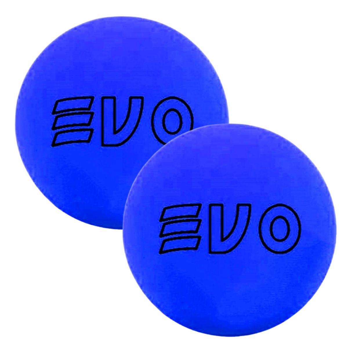 Bola De Frescobol Evo Azul Kit 2 Unidades
