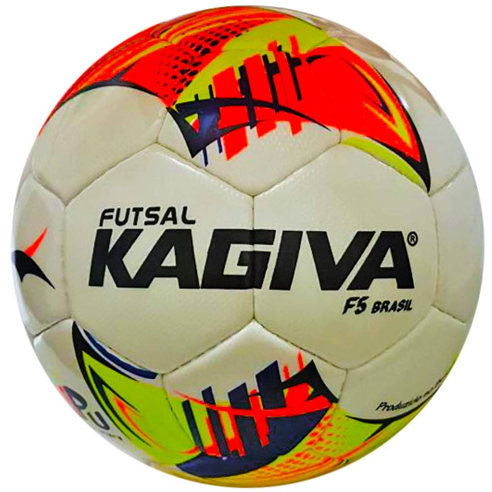 Bola Futsal Kagiva F5 Brasil Costurada
