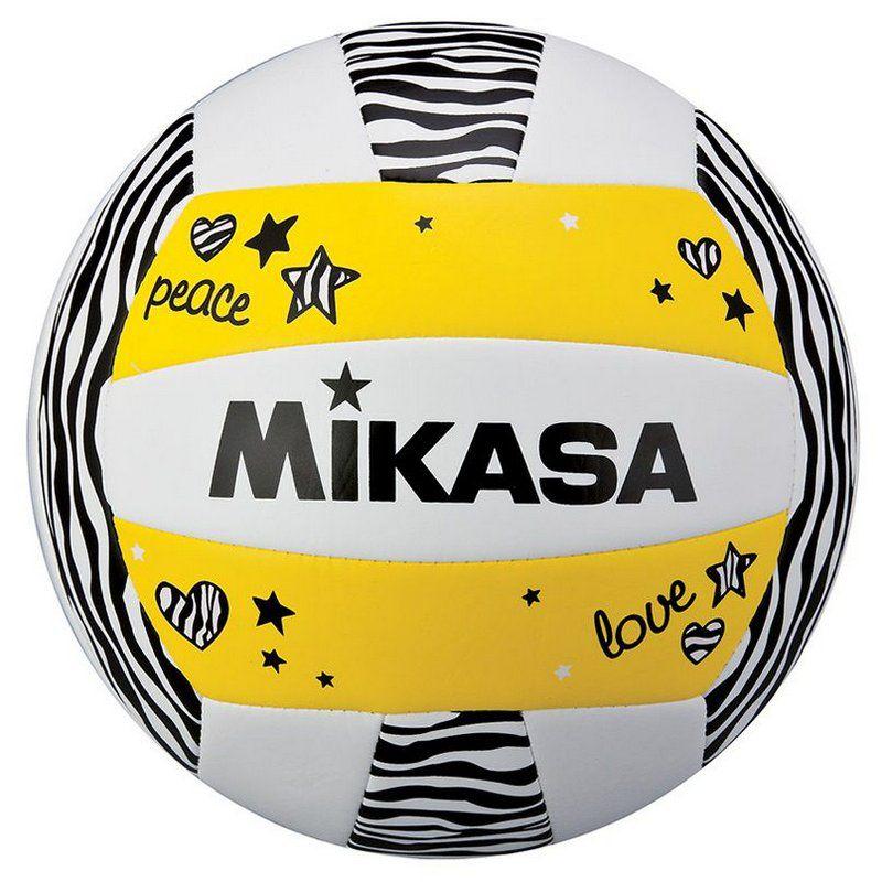 Bola Vôlei de Praia Mikasa Vxs Zb Amarelo