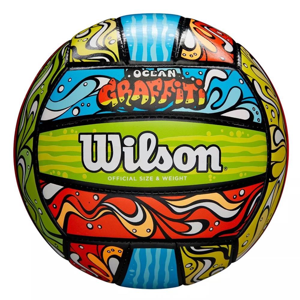Bola Vôlei Wilson Graffiti Ocean
