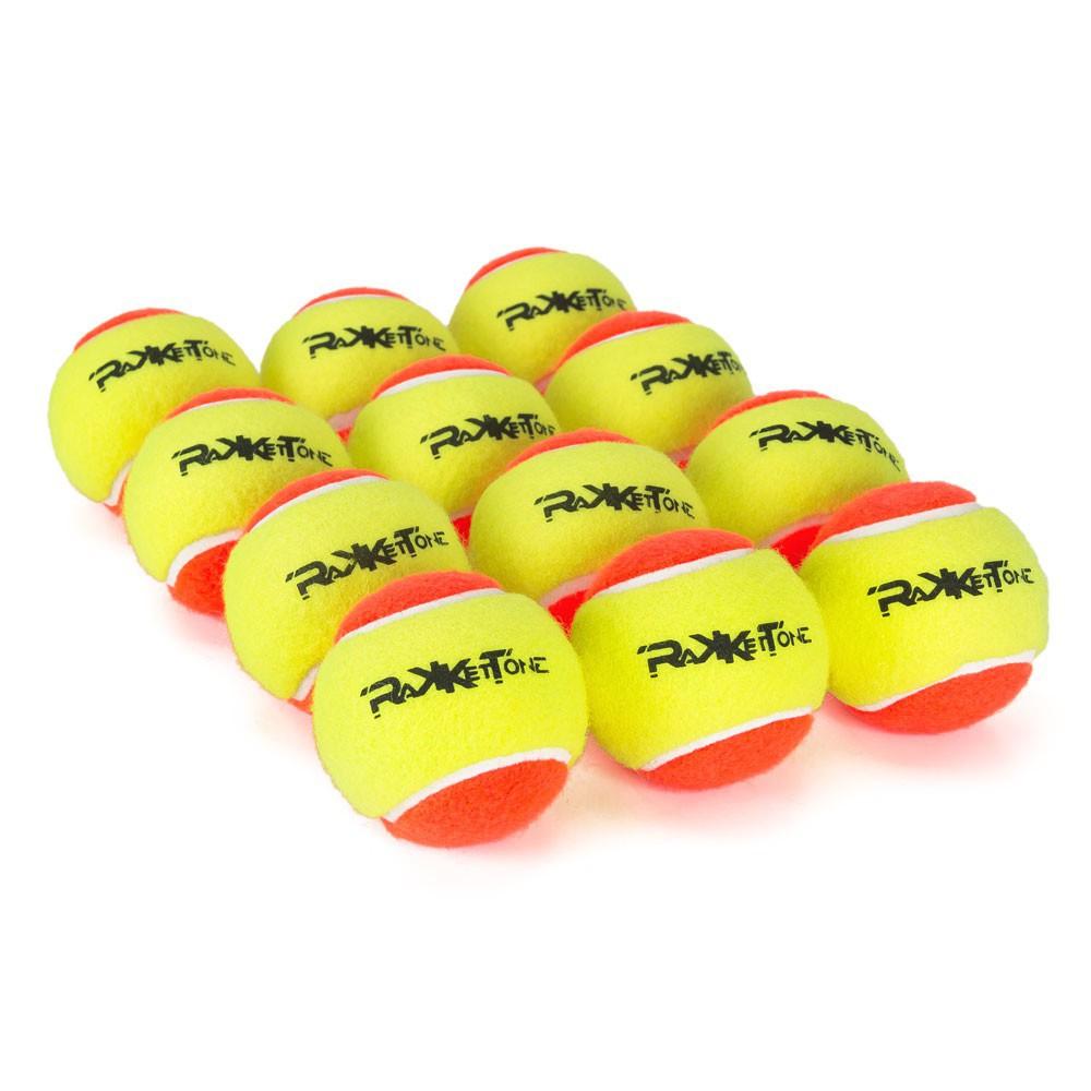 Bolas de Beach Tennis Rakkettone 12 Unidades