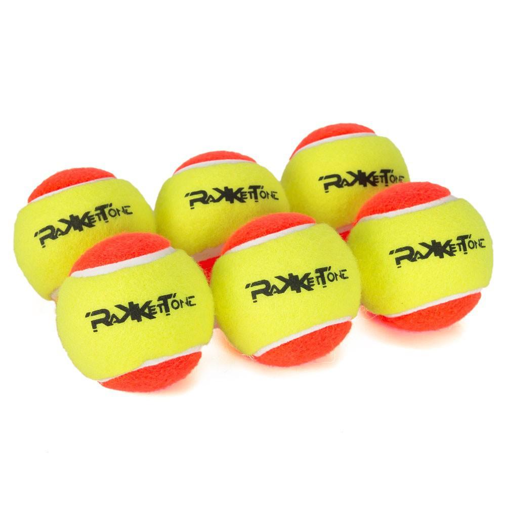 Bolas de Beach Tennis Rakkettone 6 Unidades