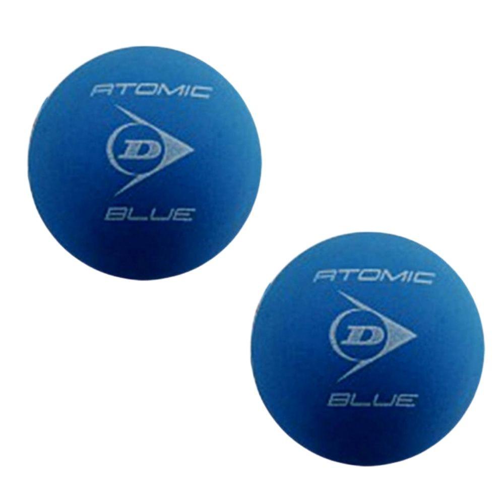 Bolas De Frescobol Dunlop Atomic Blue Kit 2 Unidades