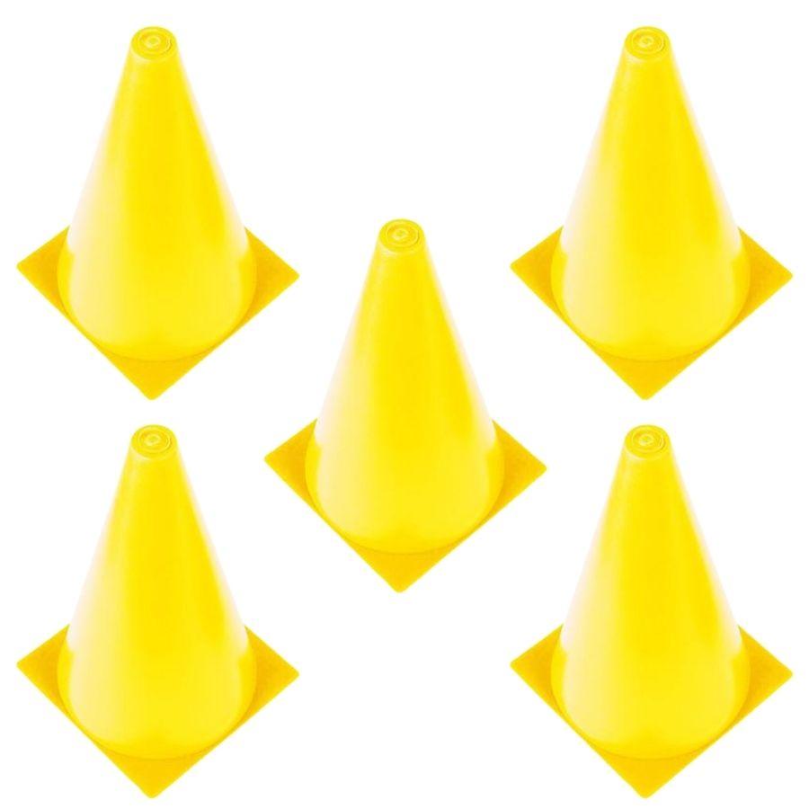 Cones de Agilidade Treinamento Poker 5 Unidades