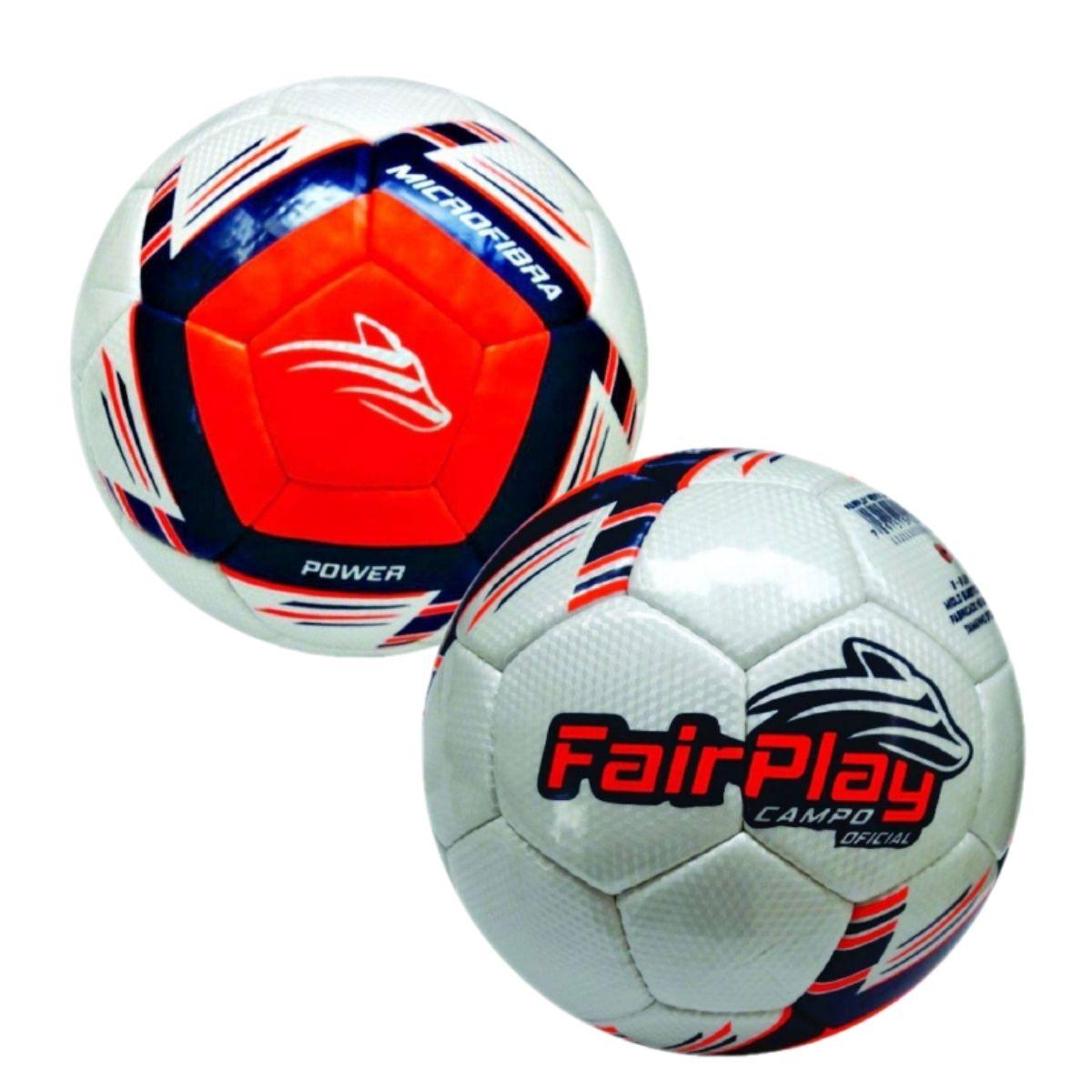 Kit 2 Bolas Futebol Campo Fairplay Power