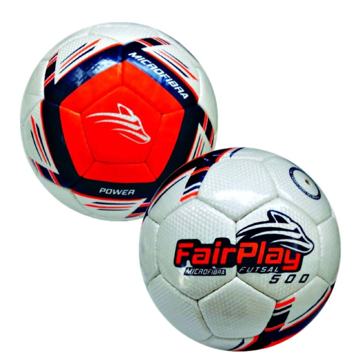 Kit 2 Bolas Futsal Fairplay Power 500