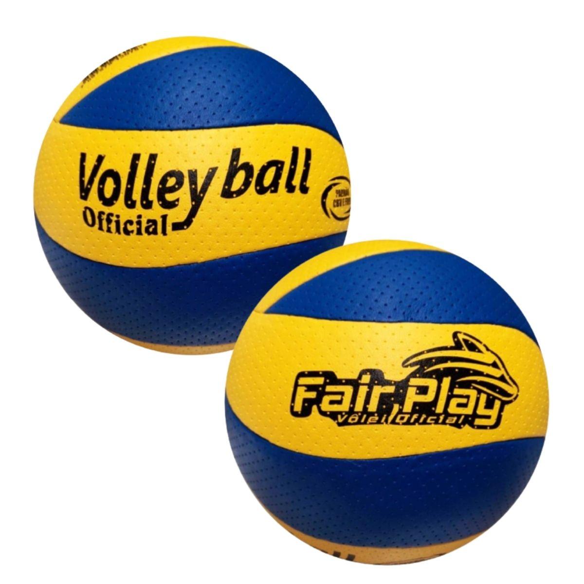 Kit Bolas De Volei Fairplay Premium