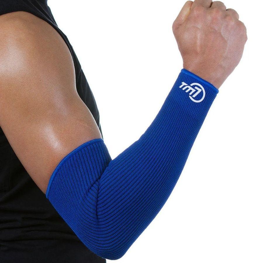 Manguito Para Vôlei Brac7 Longo Tm7 Sports Azul