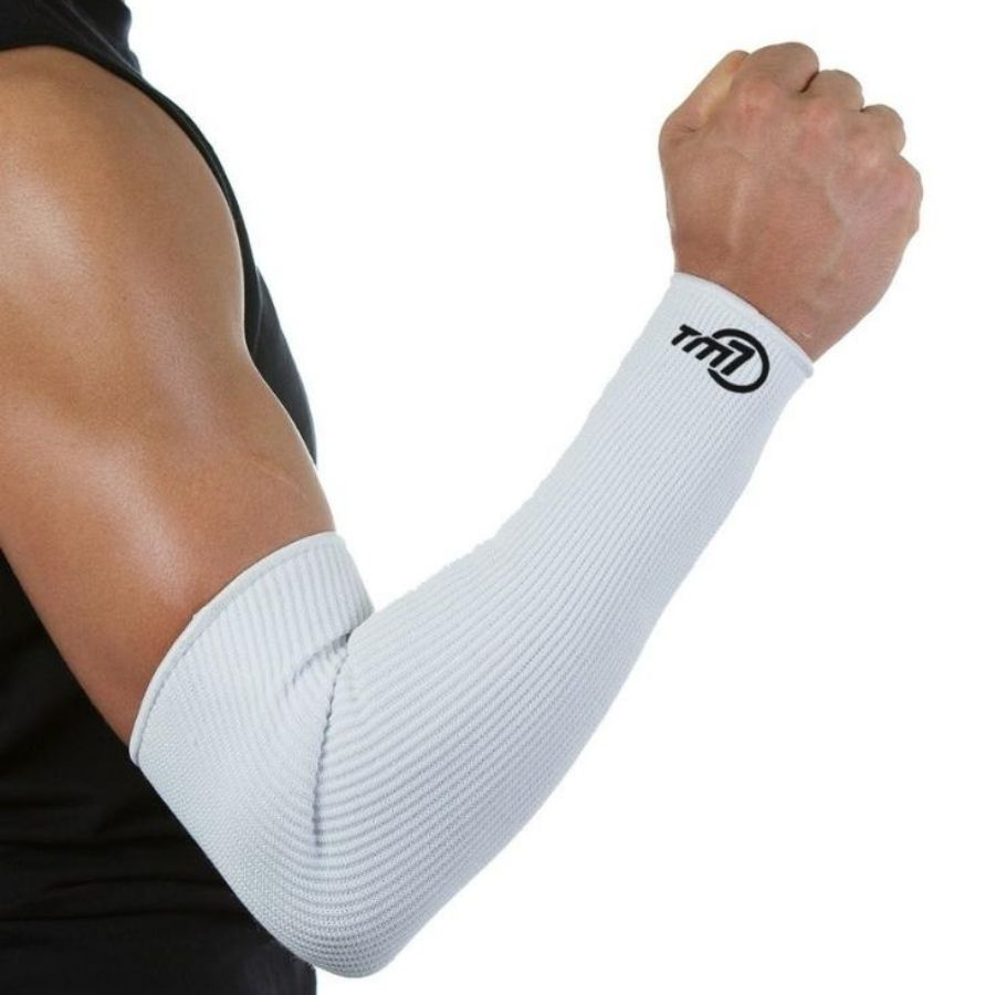 Manguito Para Vôlei Brac7 Longo Tm7 Sports Branco