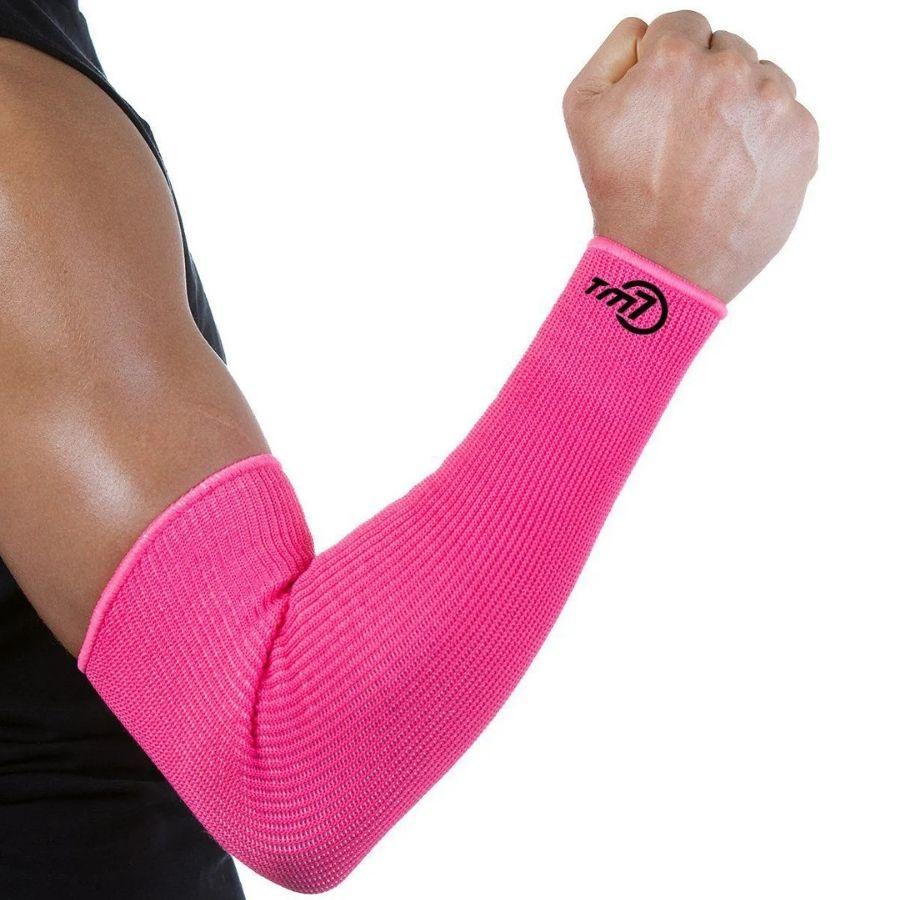Manguito Para Vôlei Brac7 Longo Tm7 Sports rosa