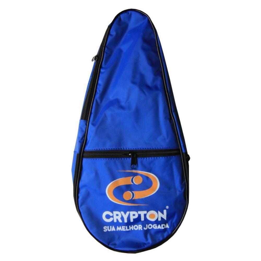 Raqueteira De Frescobol Crypton Azul