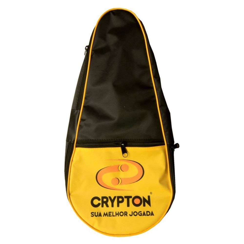 Raqueteira De Frescobol Crypton Preto