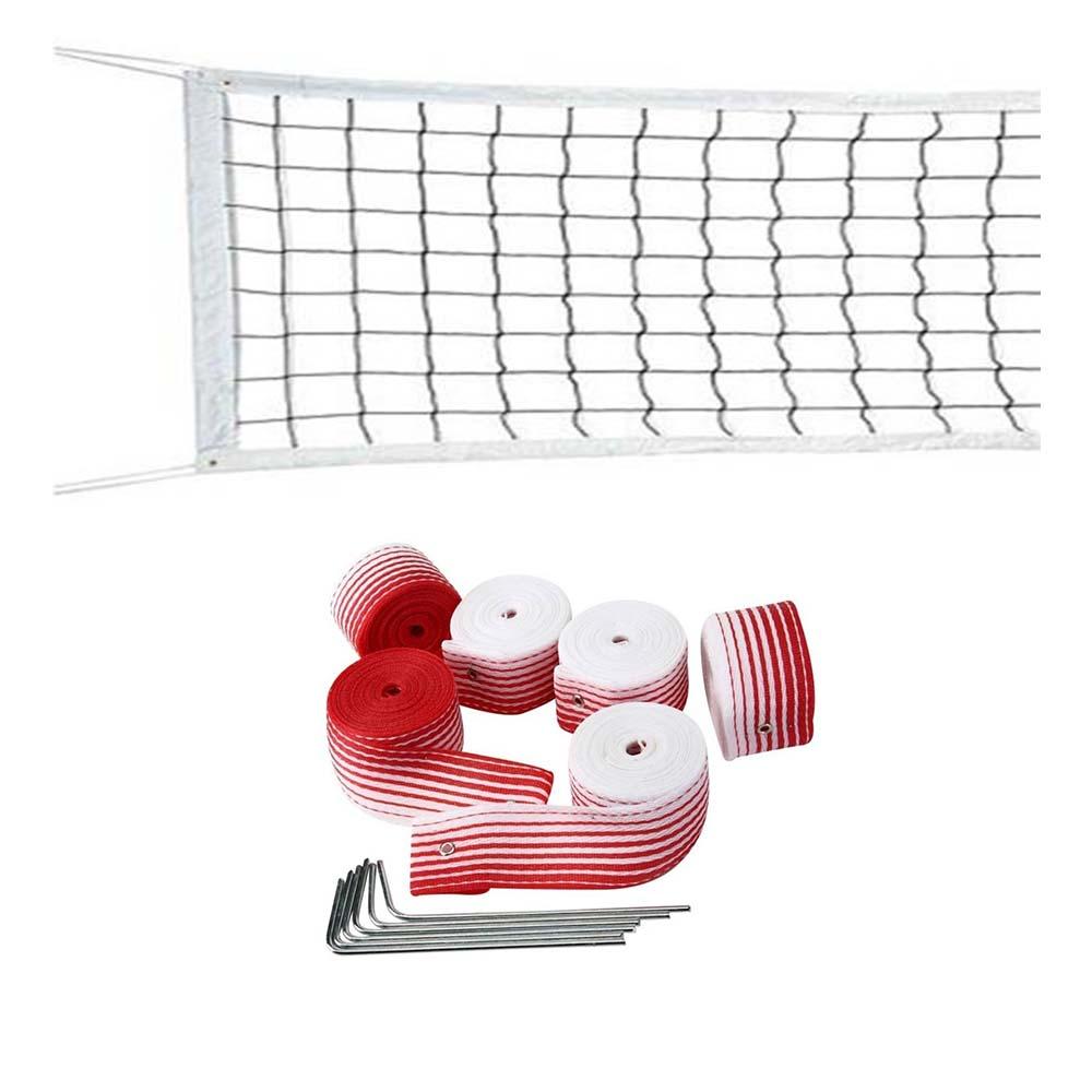 Rede De Beach Tennis Com Marcação Fita Profissional
